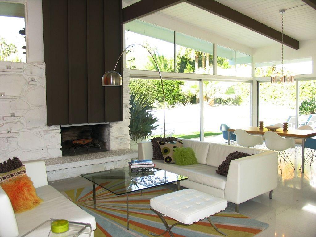 california style mid century modern bungalow. Black Bedroom Furniture Sets. Home Design Ideas