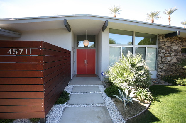 California Style Mid Century Modern Bungalow