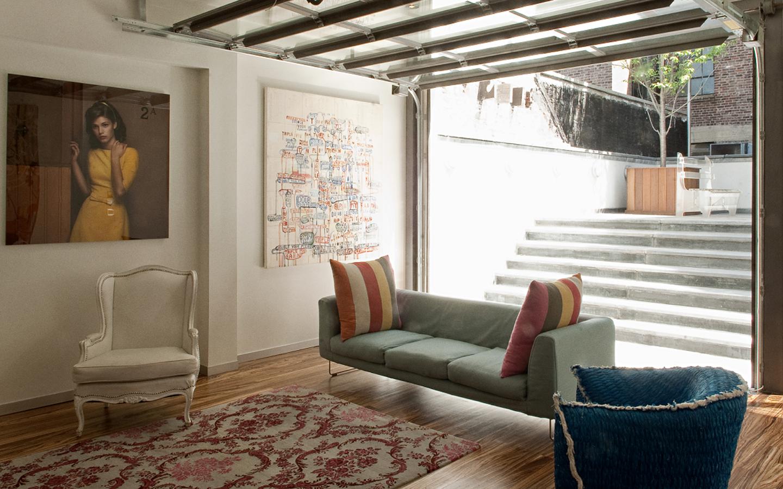 Novogratz West Village Townhouse | Living Room