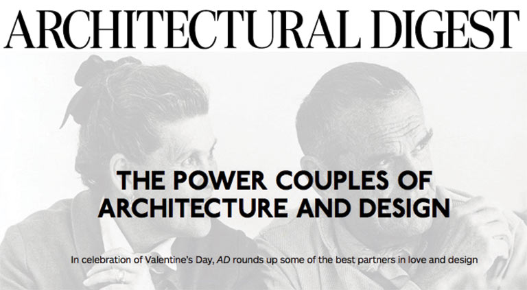 Bob + Cortney | Architectural Digest