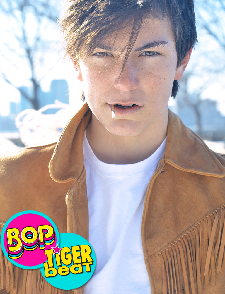 Breaker Novogratz | Tiger Beat - January 2015