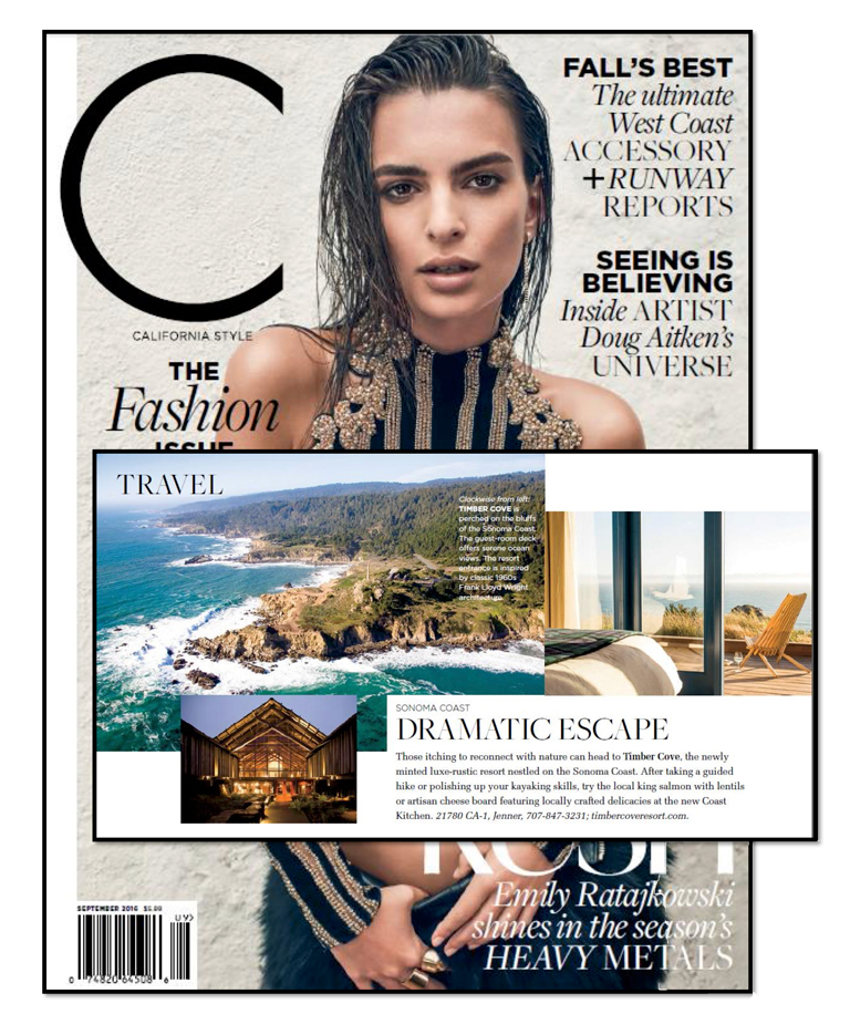 C Magazine | Timber Cove