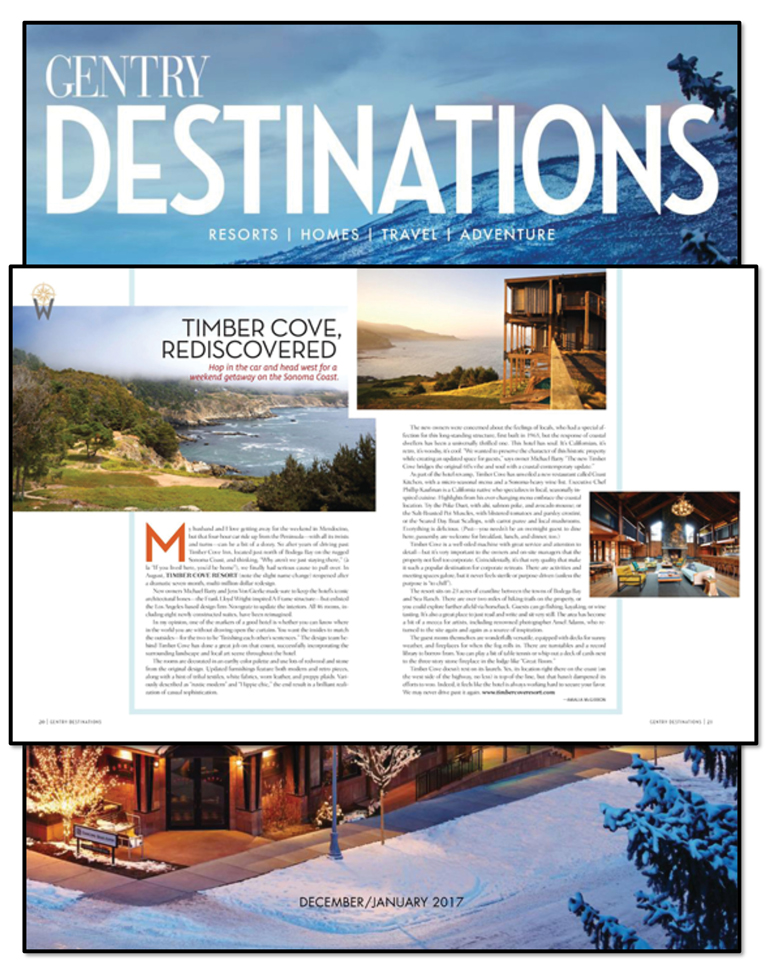 Gentry Magazine | Timber Cove
