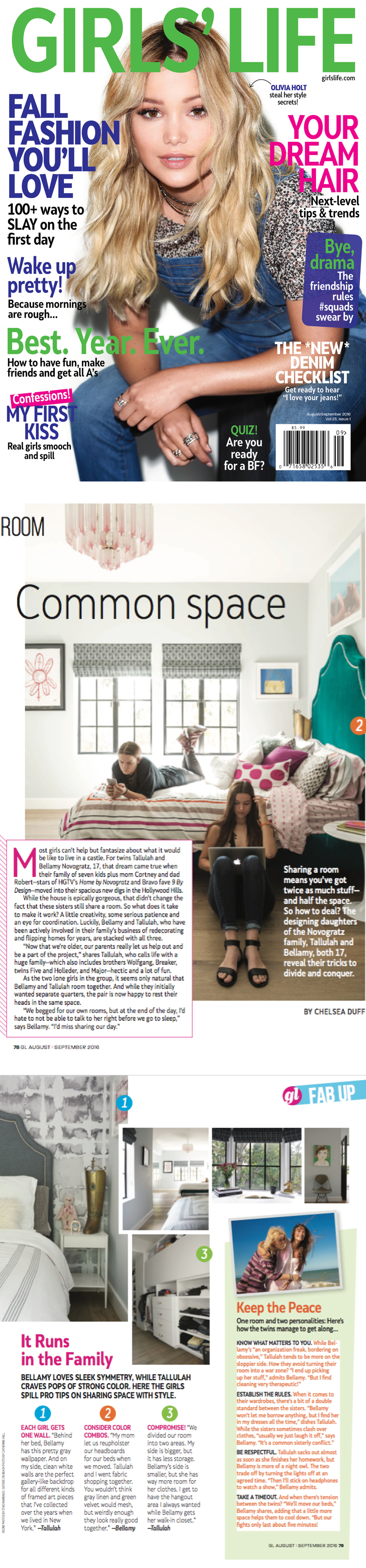 Girls Life | Common Space