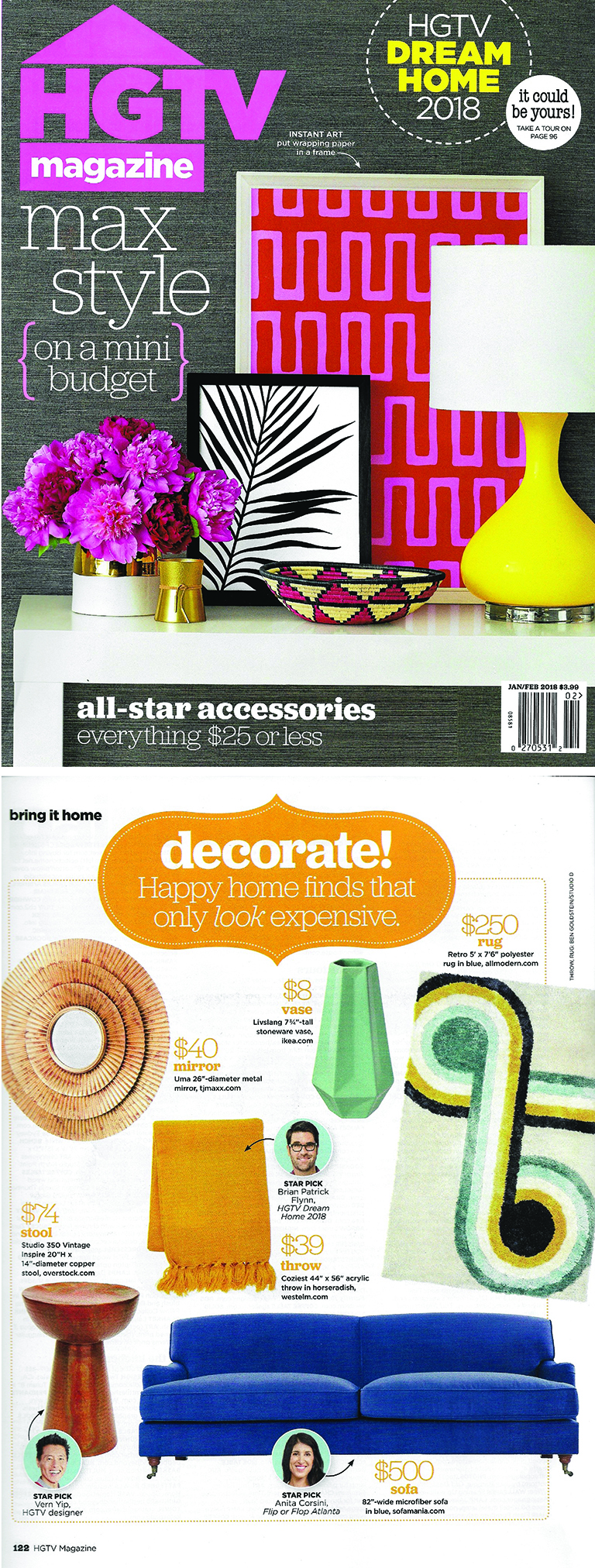 HGTV Magazine | Favorite Finds