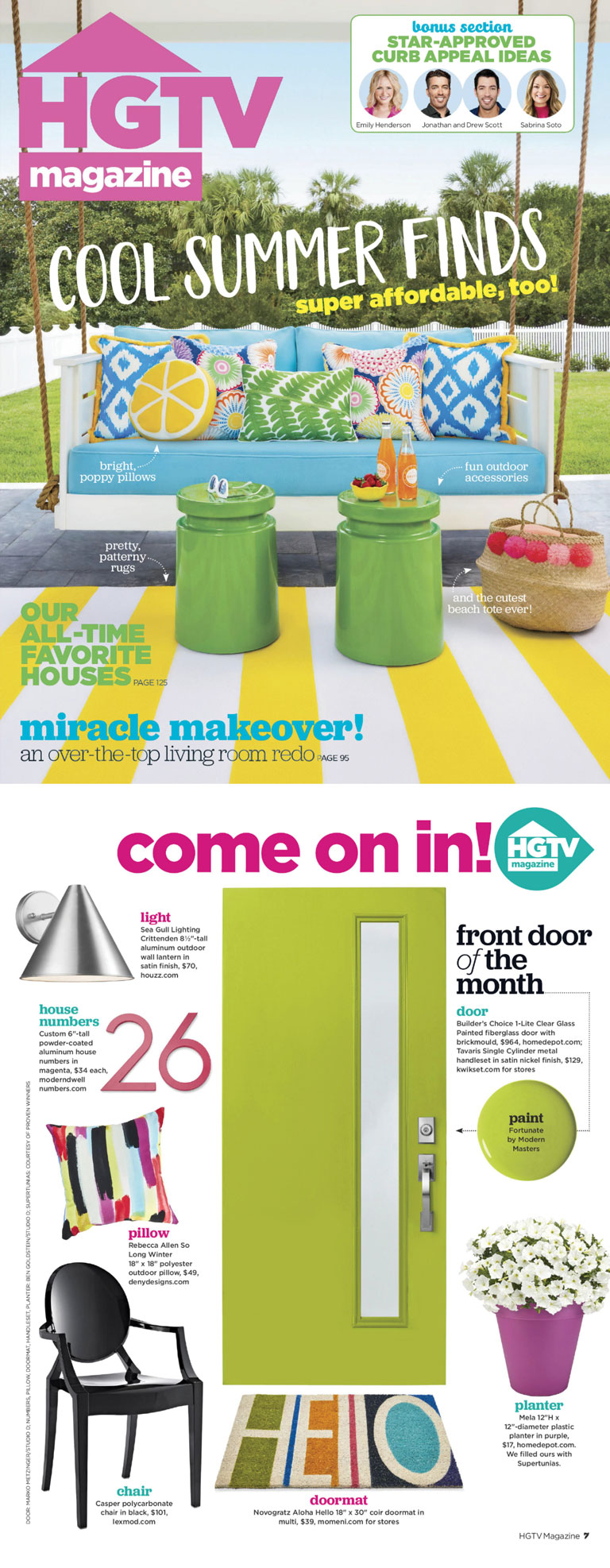 HGTV Magazine | Cool Summer Finds