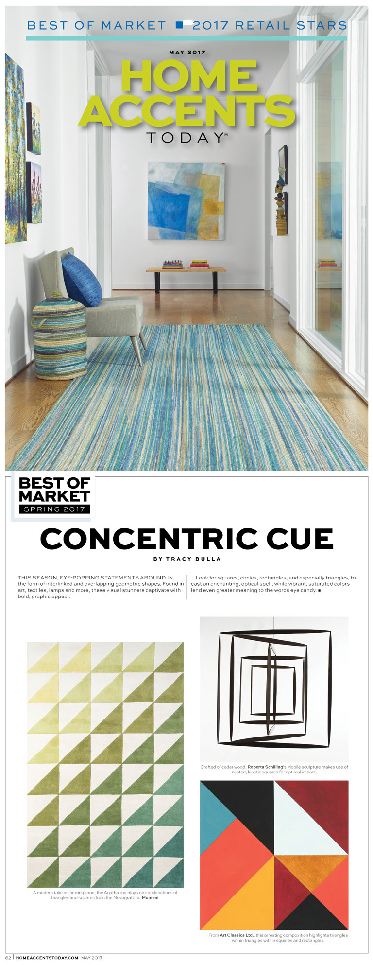Home Accents Today | Concentric Cues