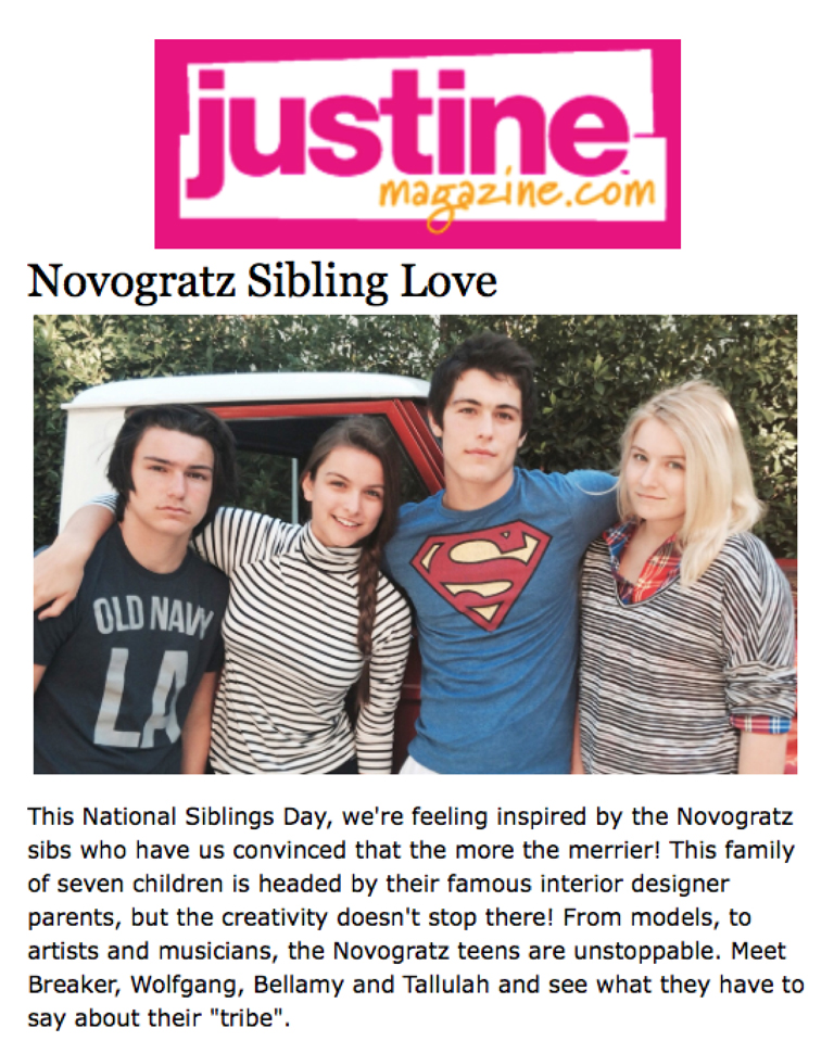 Justine Magazine | National Siblings Day