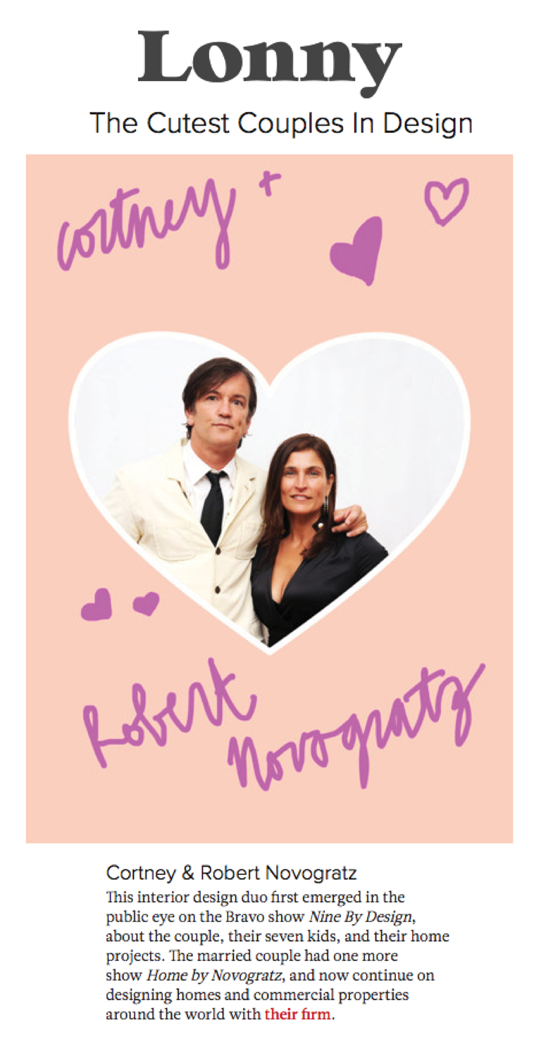 Lonny Magazine | Cutest Couples in Design