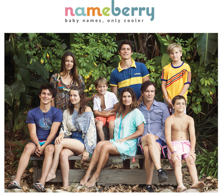 Nameberry | Big Families, Bold Baby Names