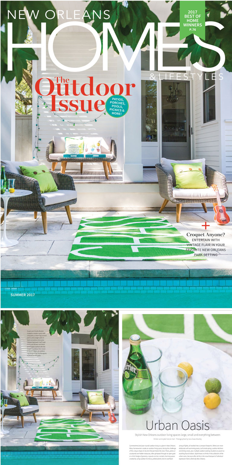 New Orleans Homes & Lifestyles | Grass Rug