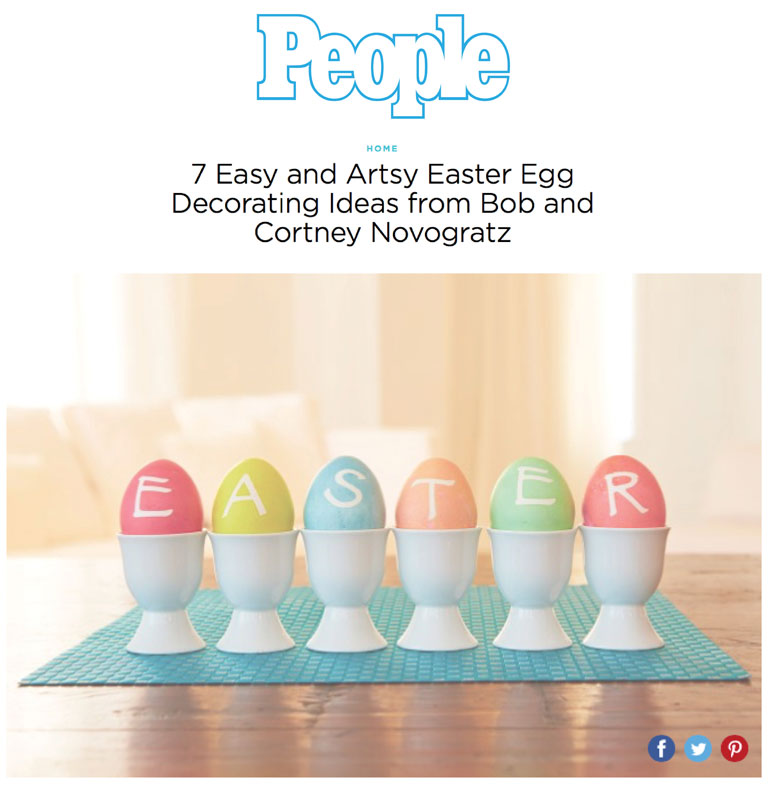 People | Tips for Decorating Easter Eggs