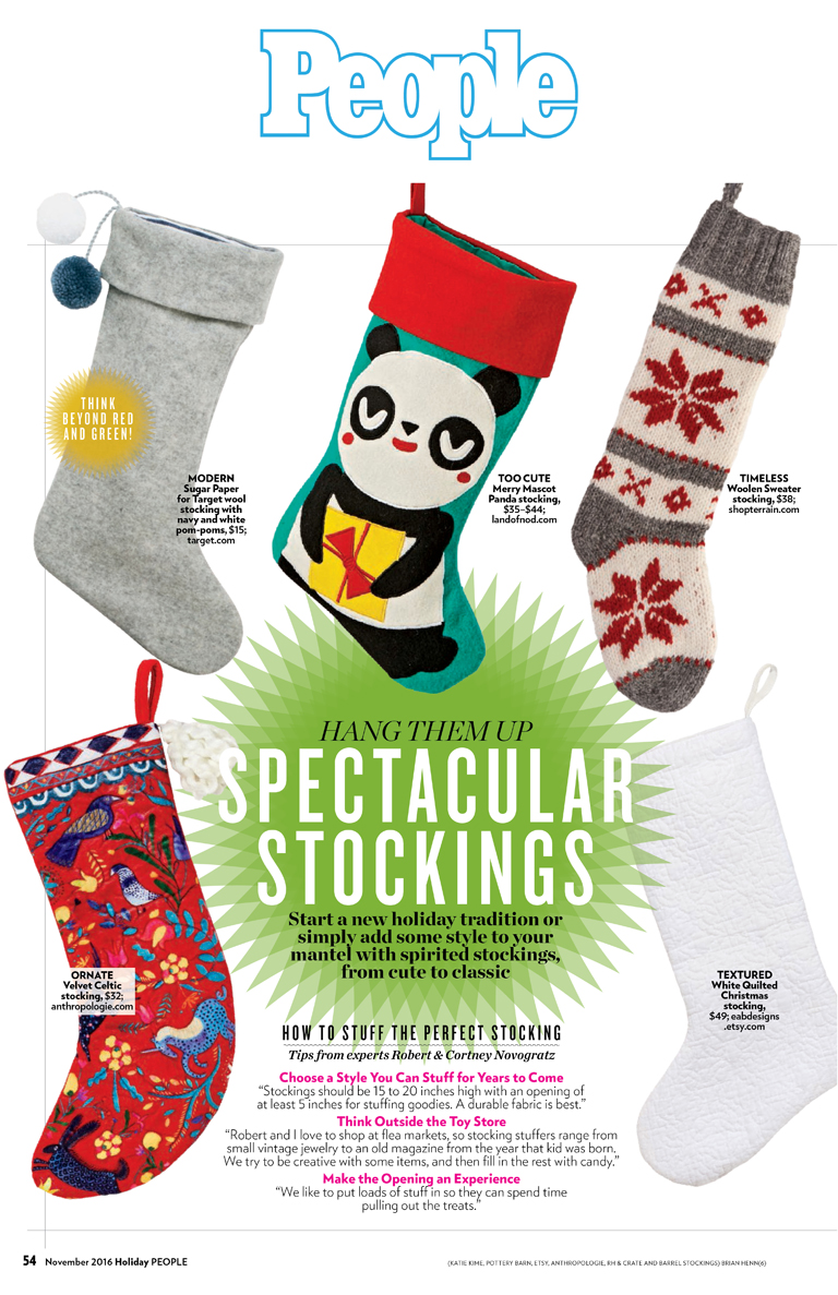 People | Holiday Stocking Guide