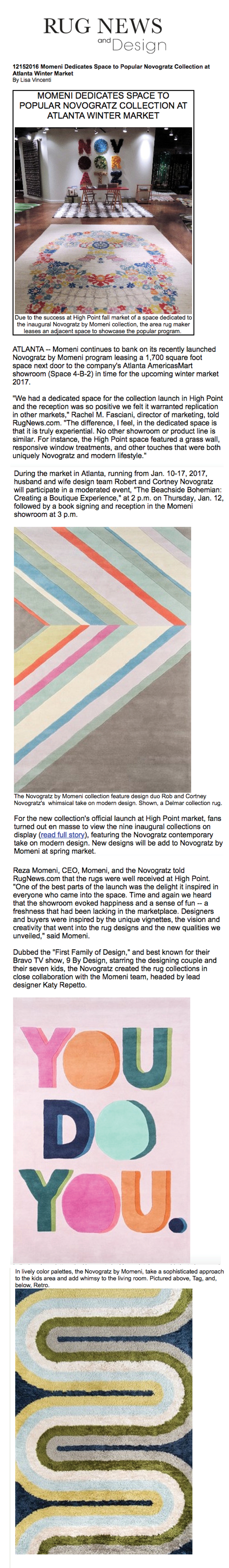 Rug News | The Novogratz Unveil Rug Collection