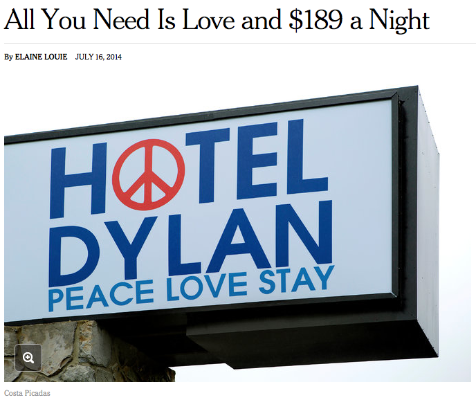 The New York Times Feature on Hotel Dylan