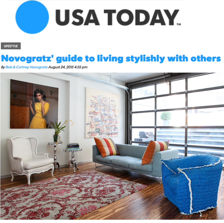 USA Today | Living Stylishly With Others
