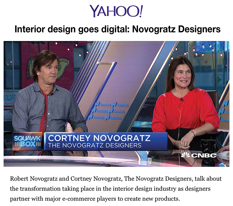 Yahoo | Interior Design Goes Digital