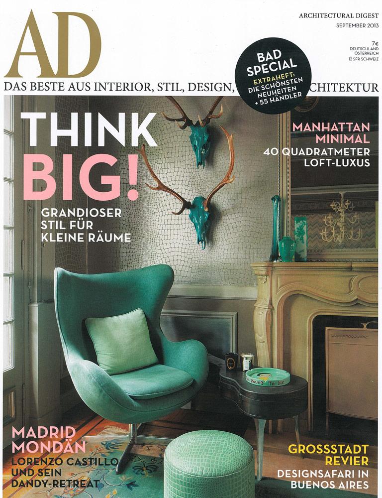 Ad Architectural Digest Feature On The Novogratz